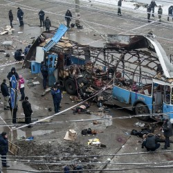 Suicide bomber kills at least 16 at Russian train station