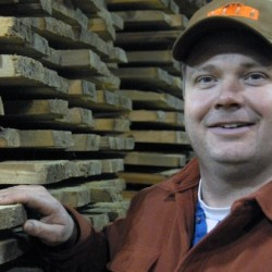UMaine professor helps business take wood from bottom of lake to the showroom