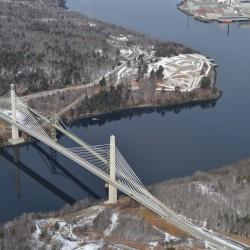 Penobscot Narrows Bridge still closed Monday morning