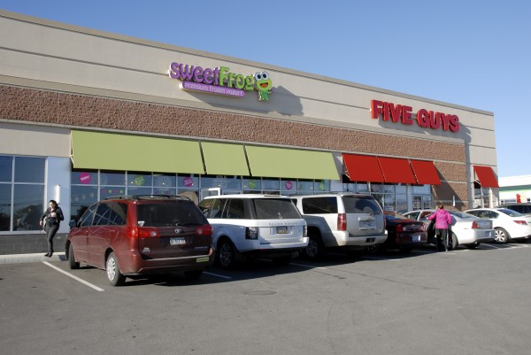 Among the new businesses that have opened along Stillwater Avenue near the Bangor Mall in 2013 are sweetFrog Yogury and Five Guys Burgers.