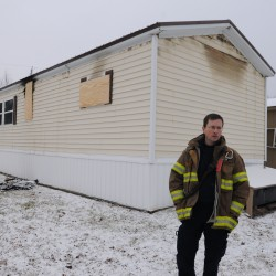 Firefighters extinguish blaze in Orono trailer, blame faulty water heater