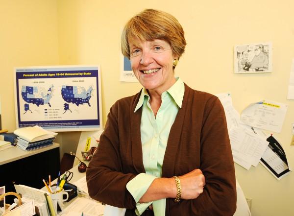 Trish Riley, the principal architect of the Dirigo Health Reform.