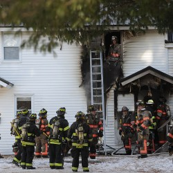 Fire damages two-story home in Old Town