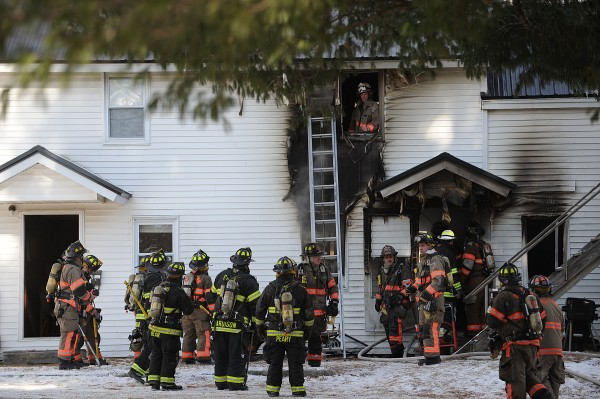 crews respond to apartment fire on main street in old town