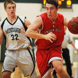 Strong start propels Camden Hills boys past Nokomis in 'B' prelim