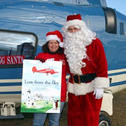 'Flying Santa' touches down for 81st year
