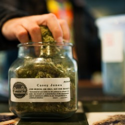 Seattle's first legal pot shop runs out of marijuana