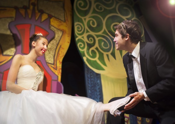 Stephanie Colovito and Ira Kramer play Cinderella and Prince Charming in Penobscot Theater Company's production of &quotCinderella.&quot