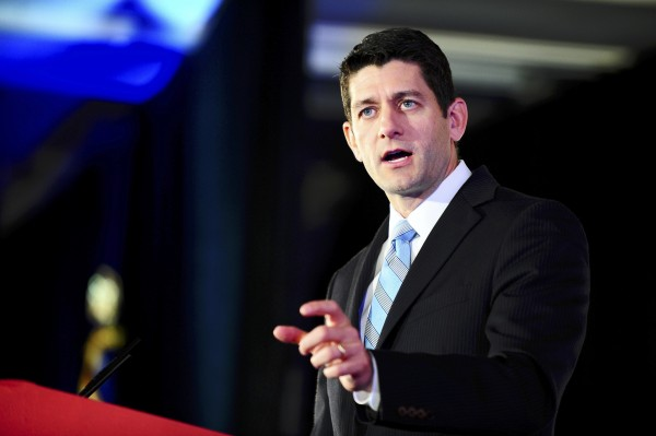 Representative Paul Ryan (R-WI) attends the Faith and Freedom Coalition Road to Majority Conference in Washington, in this June 14, 2013, file photo.