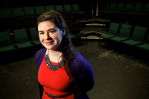 Film and stage actress Elizabeth Lardie's play &quotTemporary Living Arrangements&quot will open at Portland Stage Company in January.