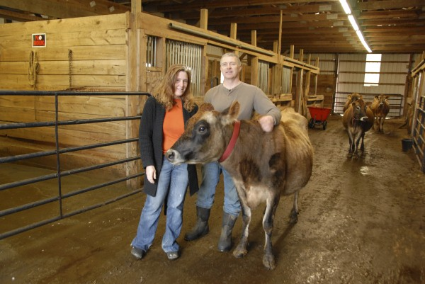 Suzanne and Ed Moreshead own Siberia Farms LLC Hermon and raise beef cattle and Jersey dairy cattle.