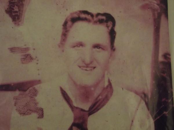Robert Coles as a 17-year-old sailor in Honolulu, Hawaii in 1941.