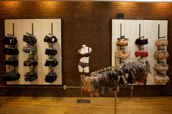Aristelle, a bra fitting and fine lingerie store in Portland, custom-fits bras for women of all shapes and sizes.