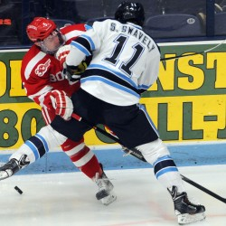 UMaine hockey team rallies past Cornell to win Florida College Classic