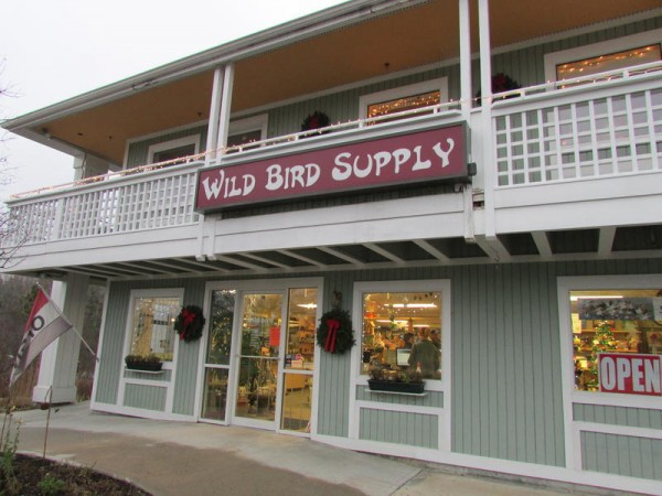 The owners of Freeport Wild Bird Supply on Route 1 fear the impact wind turbines off Monhegan Island could have on migratory birds.