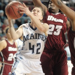 Brown edges UMaine women in overtime to win Dead River Co. Classic title