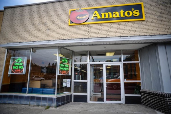 Two Amato's Restaurants in Aroostook County owned by Micah and Jessica Desmond are closing.