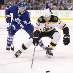 Kadri's power-play goal lifts Leafs by Bruins in overtime