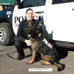 Four-legged officers to receive bullet and stab protection vests