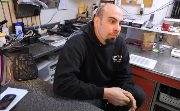 Luke Shorey, manager of Lincoln Trading Pawn shop in Lincoln, hopes that the announced layoffs at the mill will not affect his business too much. The Lincoln Paper and Tissue LLC announced Wednesday the it will furlough about 200 people.