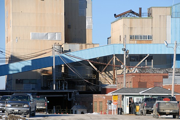 The Lincoln Paper and Tissue LLC mill as seen on Thursday, Dec. 12, 2013.