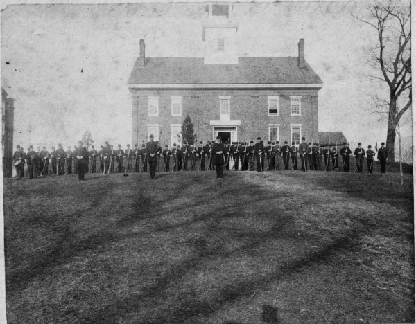 Wilson Hall, a building in Bucksport, was once part of a preporatory school. Many of its students fought in the Civil War.