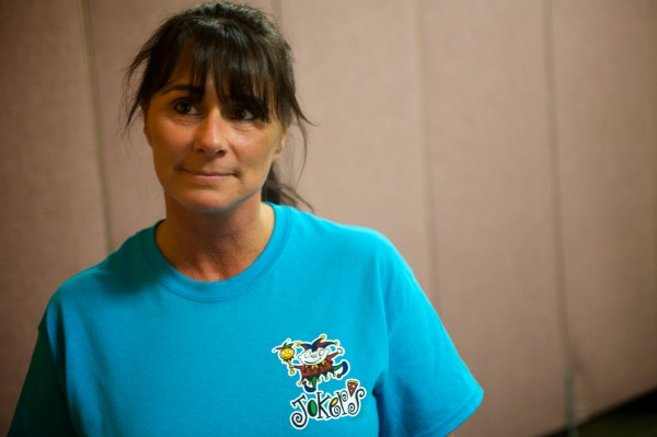 Michelle Bussiere, a manager at Joker's in Portland, raised money through her nonprofit to host nearly 130 parents and children from area family shelters for a third annual Christmas party at the family game and play center.
