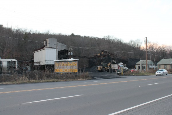 Split Vein Coal Co. operates outside of Shamokin, Pa., about eight miles from Kulpmont, hometown of University of Maine quarterback Marcus Wasilewski.