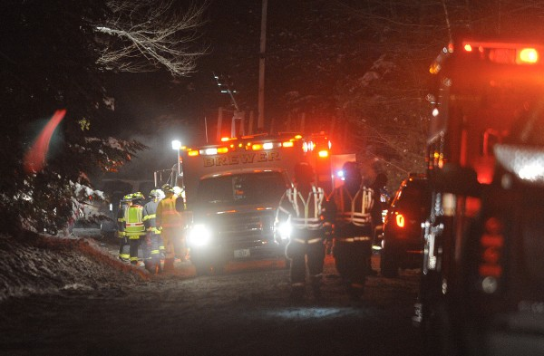 A fatal accident was reported on Rebel Hill Road in Clifton on Monday night.