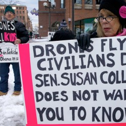 Collins defends vote against drone civilian casualty reporting