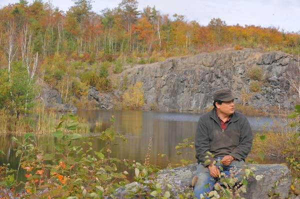 Daniel LaPointe of Orono is hoping to reopen an existing quarry on his property.