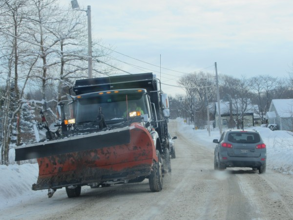 Rockland is considering revising the way it plows streets in an attempt to reduce overtime costs.