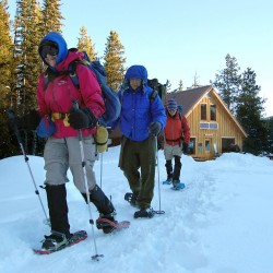 Snowshoeing for health