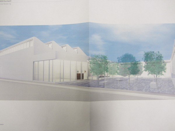 This the proposed Center for Maine Contemporary Art complex that is to be built on Winter Street in Rockland.