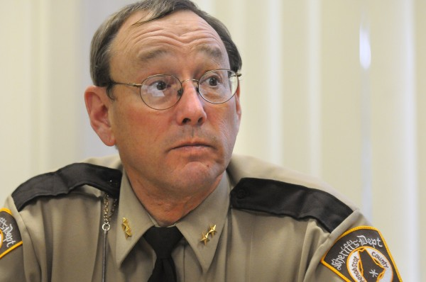 Penobscot County Sheriff Glenn Ross