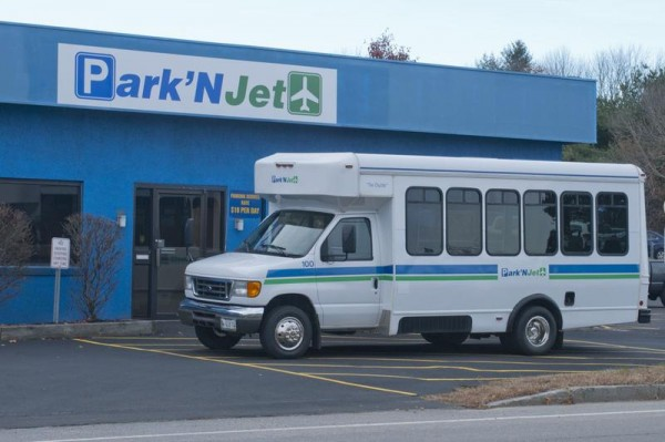 Park'N Jet, which opened last month on Westbrook Street near the Portland International Jetport, provides valet parking and extras like oil changes.