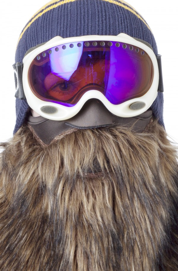 The Beardski Prospector bearded facemask