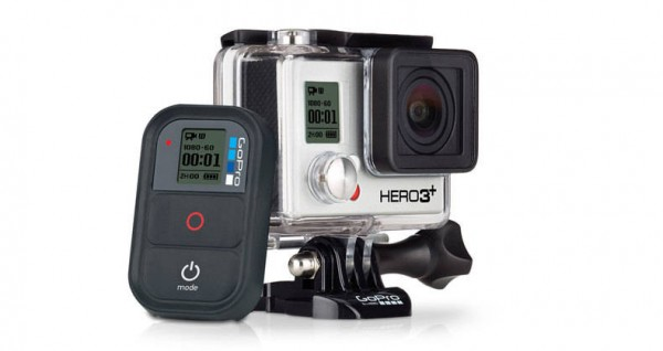 The GoPro Hero3+ Black Edition camera
