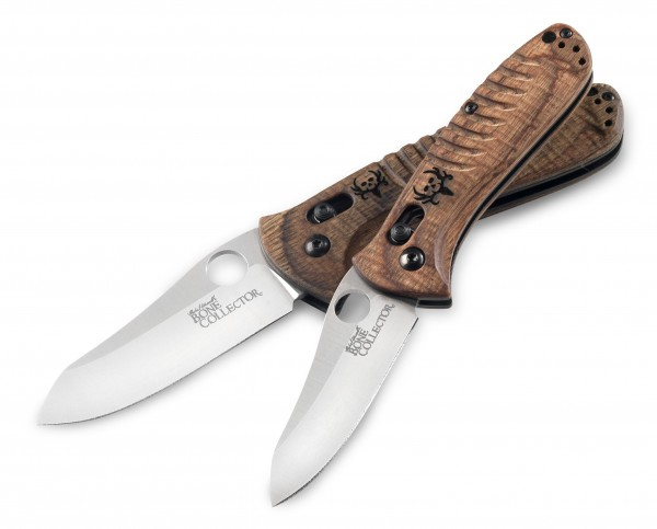 Benchmark knives from the Bone Collector Series