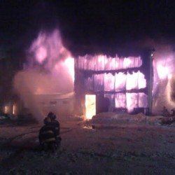 Fire damages Jonesport summer home
