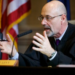 Judge holds care, respect as priorities