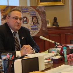 LePage spending a lot of money for welfare consultant to sit by his side and say 'atta boy'