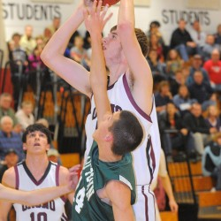 Balanced Old Town boys basketball team handles John Bapst