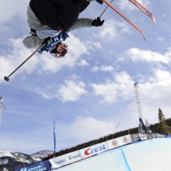 Skiers hit the halfpipe despite Burke's injury