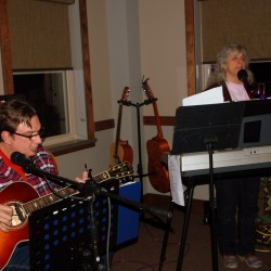 Dan and Janice getting down, for more gigs visit www.EnigmaticNorth.com