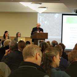 Mark Lapping, Maine Food Strategy Addresses Maine Food Summit Attendees