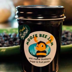 Moose Bee Wild Maine Blueberry Jam (photo by Serendipity Photography)