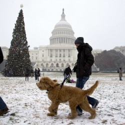 Storm strands travelers along East Coast