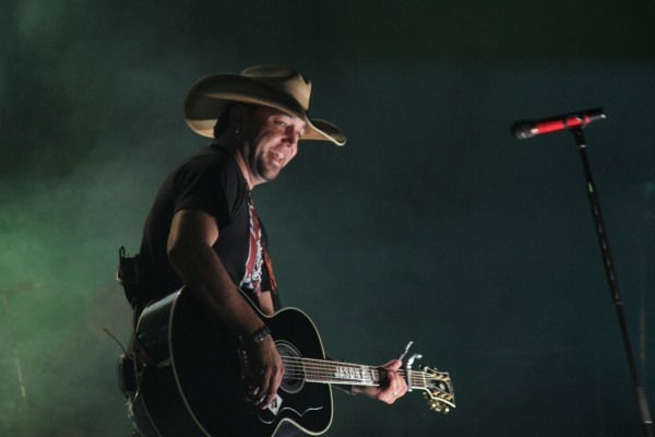 Country singer Jason Aldean plays to a packed crowd Sunday night, Sept. 2, 2012, on the Bangor Waterfront. He's set to return on Aug. 31, 2014.