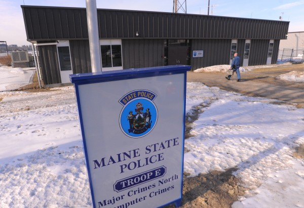 The new location for the Maine State Police Troop E in Bangor.